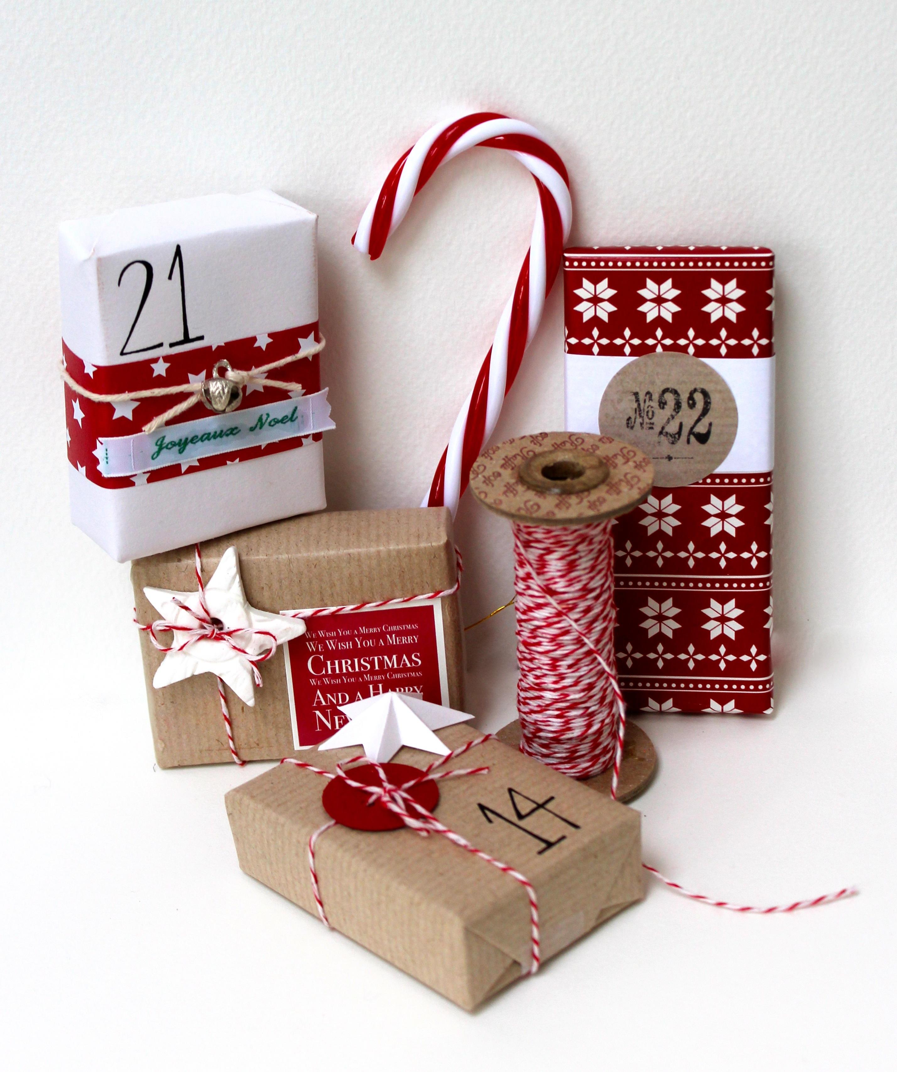 Новогодние упаковки своими руками фото