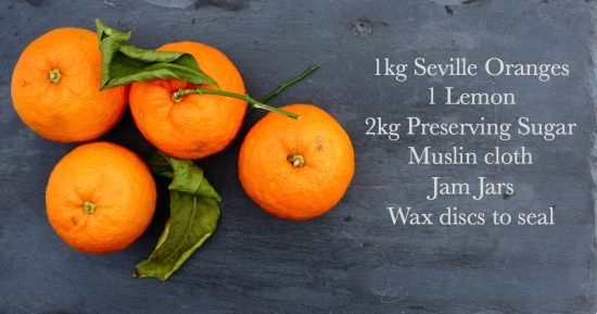 marmalade ingredients list