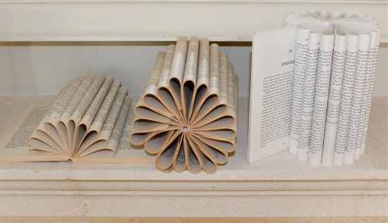 Roll-folding books