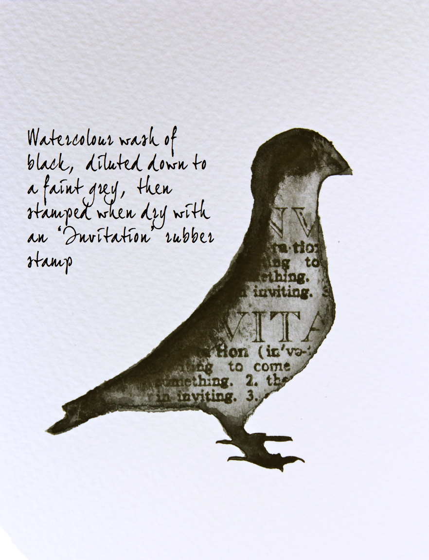 Kate's Creative Space and Watercolor Watercolour-pigeon-with-stamping