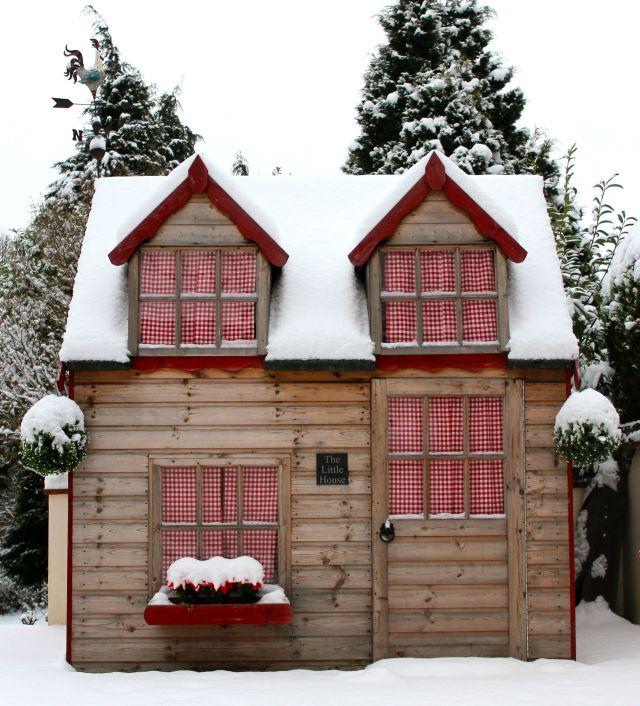 The Little House in Winter