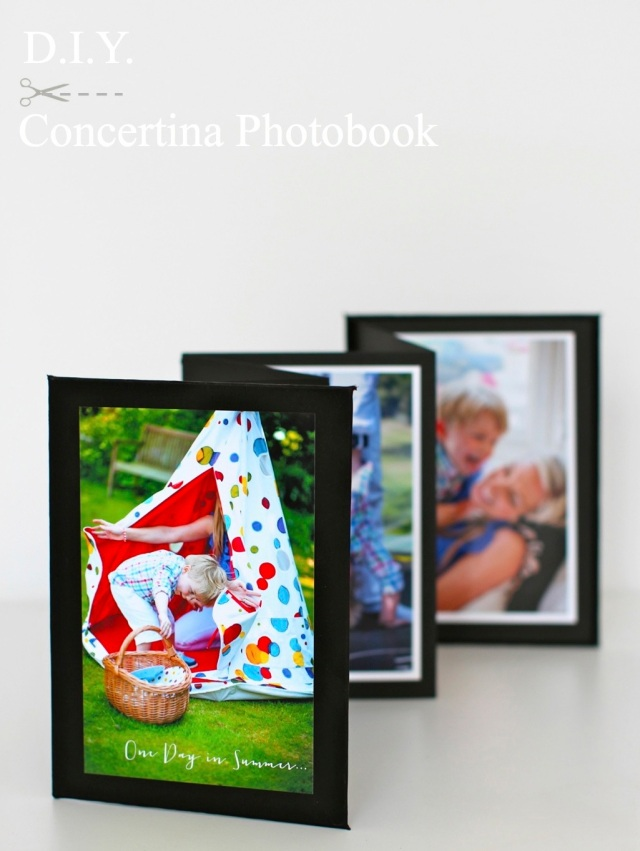 DIY Concertina Photobook Project