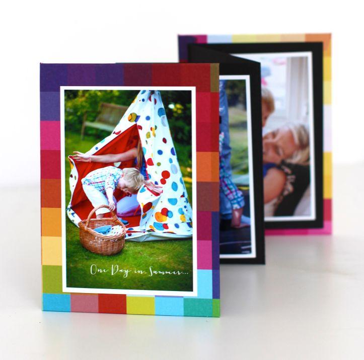 DIY folding Photobook